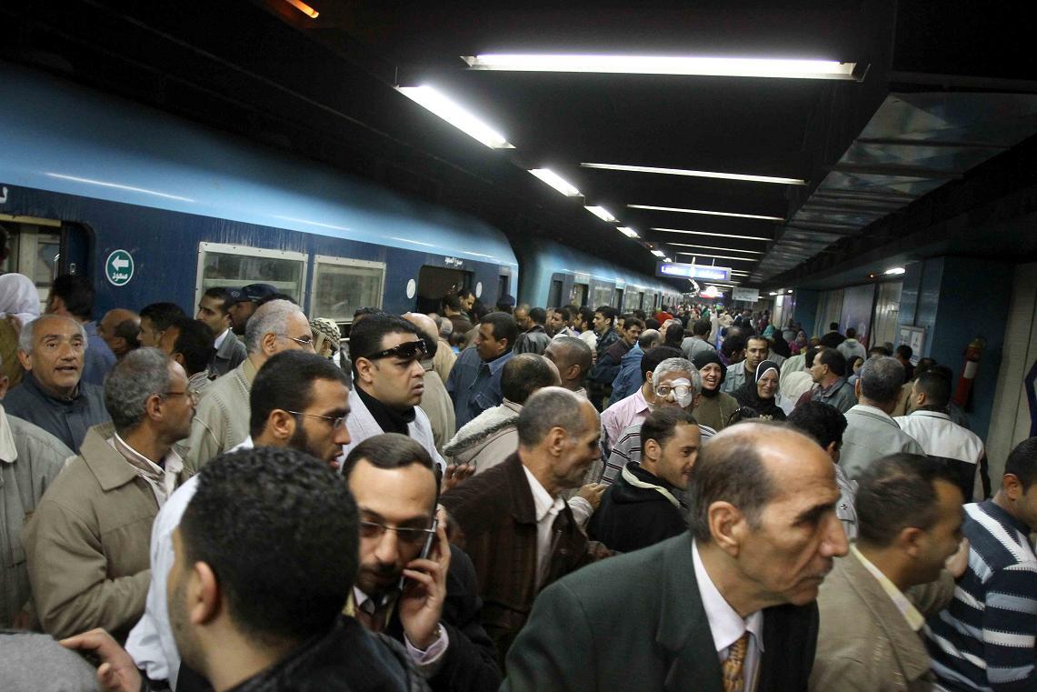 Millions of Egyptians use metro everyday (file photo) Hassan Ibrahim / DNE