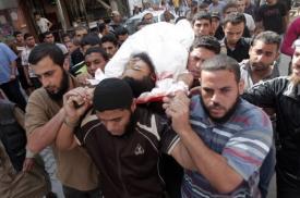 Israeli air strikes kill four militants in 24-hours of bloodshed (AFP, Said Khatib)