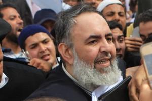 Salafi preacher and former presidential candidate Hazem Salah Abu Ismail(AFP/ FILE PHOTO/KHALED DESOUKI)