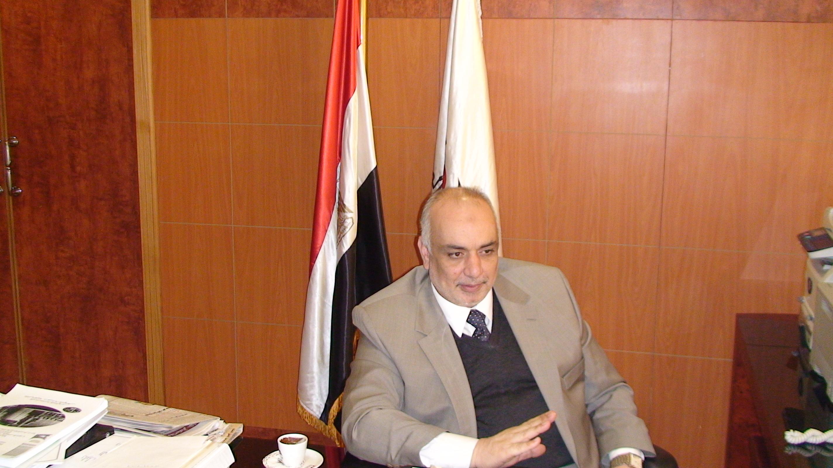 Dr Mahmoud Al Garf, president of the Industrial Development Authority (IDA)  (Photo by DNE)