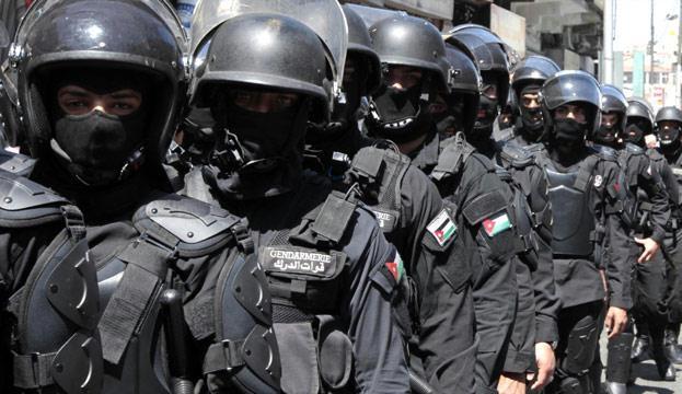 Jordanian riot police (File photo, AFP / Khalil Mazraawi)