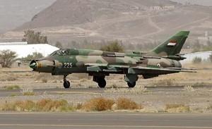 Yemeni air force plane AFP PHOTO