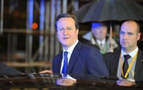 British Prime Minister David Cameron. (AFP PHOTO / Georges Gobet)
